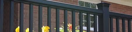 deck railing systems u0026 kits porch railings fiberon