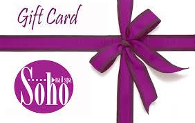 soho gift card 25 00 sohonailspa relax rejuvenate refresh