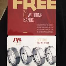 jvl wedding bands find more gift card for free set of wedding bands from jvl jewelry