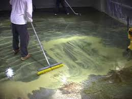 How To Stain Concrete Patio Yourself Www Concreteideas Com How To Acid Stain A Floor How To Stain