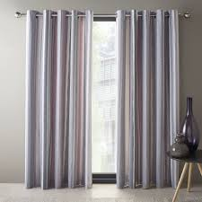 Orange Thermal Curtains Dreams And Drapes Orange Thermal Lined Ready Made Eyelet
