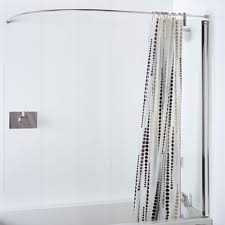 bathroom shower curtain rails u2022 shower curtain