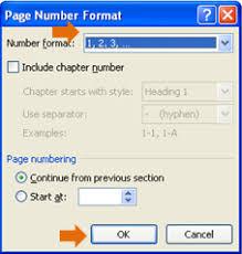 cara membuat nomor halaman yang berbeda di word 2013 cara memberikan jenis penomoran berbeda pada microsoft word 2010