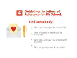 secrets of successful pa letters of recommendation the