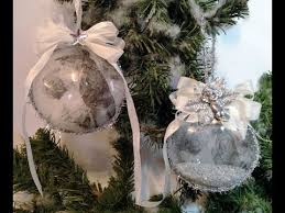 how to decorate an acrylic ornament with decoupage napkins