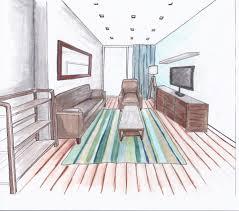 sketch room a concept sketch for a big girls living room interior design for