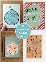 16 handmade christmas cards decor advisor