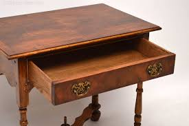 william and mary table antiques atlas antique william mary style walnut side table
