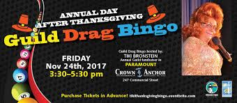 annual day after thanksgiving guild drag bingo 2017 provincetown