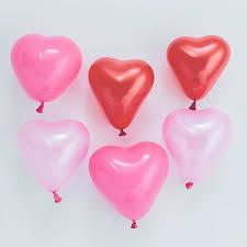 heart balloons tiny heart balloons mini party balloons pretty