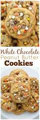 white chocolate reese u0027s pieces peanut butter chip cookies recipe