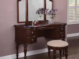 Bedroom Vanity Table Bedroom Powell Marquis Cherry Bedroom Vanity Modern Wood Wayfair