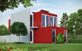 modern and elegant conex box house design with great combination