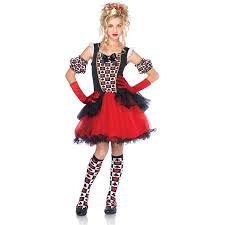 Junior Halloween Costumes Buy Junior Playing Card Queen Teen Halloween Costume Cheap