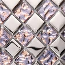 g nstige k che glasmosaik günstige küche backsplash aufkleber gold kristall glas