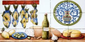 hand painted tiles kitchen backsplash tile murals by julia