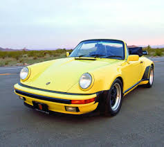 porsche whale tail everything turbo 1987 porsche 911 cabriolet a sof hemmings