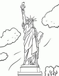 statue of liberty coloring pages regarding motivate in coloring