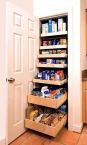 walk in kitchen pantry ideas gray steel square stool dark brown