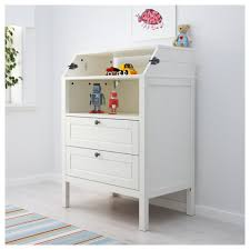 Change Table Height Sundvik Changing Table Chest Of Drawers White Ikea