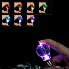 new arrival three colour changing led light battery mini bulb