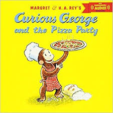curious george pizza party downloadable audio