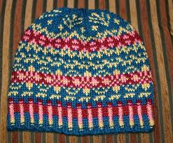 stranding or fair isle knitting