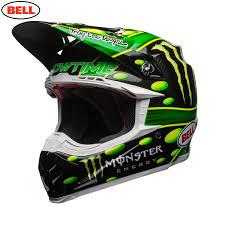 green motocross helmets 2018 bell moto 9 carbon flex mcgrath monster helmet black green