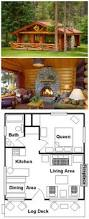 alpine village log cabins logcabin creative design pinterest