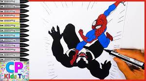 spiderman venom coloring pages kids 60 spiderman