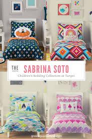 sabrina soto children u0027s bedding collection at target annmarie john