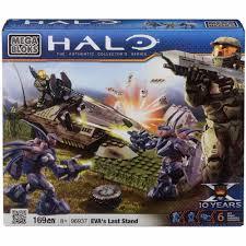 halo warthog mega bloks mega bloks halo eva u0027s last stand playset walmart com