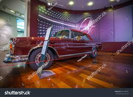 classic red mercedes weybridgeenglandmarch 1 2017 classic red mercedesbenz stock photo