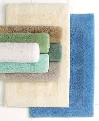 17x24 Bath Mat Closeout Martha Stewart Collection Plush Squares Cotton 17