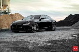 maserati ghibli silver black maserati ghibli looking fly on custom polished silver wheels