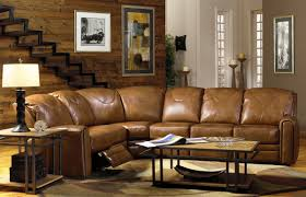 sectional sleeper sofa with recliners leather recliner sectional sofas 19 with leather recliner