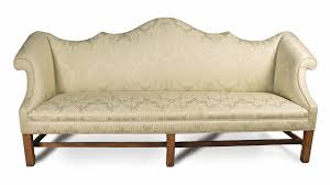 Chippendale Loveseat Philadephia Chippendale Mahogany Double Peaked Camelback Sofa