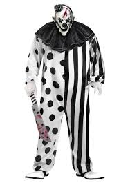 scary clown costumes killer clown plus size costume