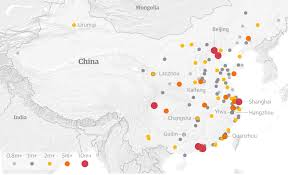 Hangzhou China Map by More 100 Cities Above 1 Million Mclc Resource Center