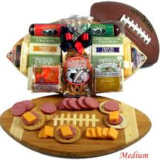 snack basket halftime snacks football fan gift basket
