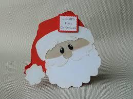 personalised baby u0027s first christmas santa card by tyandlailah on
