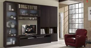 living led tv wall design in bed room and hall minimalist wooden