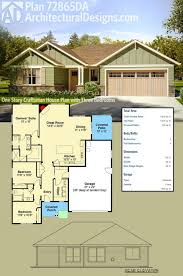 Best Craftsman House Plans Baby Nursery 1 Story Craftsman House Plans Craftsman Style House