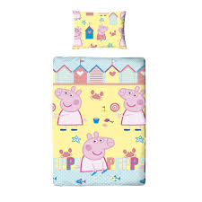 Peppa Pig Single Duvet Set Peppa Pig Peppa Pig Multicolour Single Duvet Set Departments