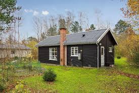 black and white danish summerhouse small house bliss in denmark