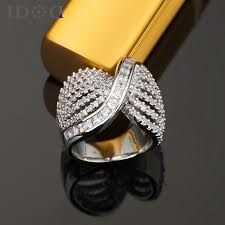 girls rings style images New modern trend rings personalized girls fashion wide ring you jpg