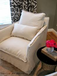 Swivel Upholstered Chairs Living Room by Slipcovered Furniture Yet Another Reason I Love It Driven By Decor