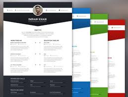 visual resume templates resume templates