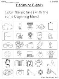 consonant sounds l blends worksheets articles and pictures