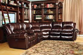 Top Grain Leather Sectional Sofas Top Grain Leather Sectional Sofa Bonners Furniture Pertaining To